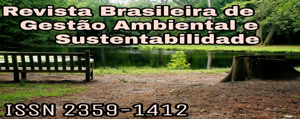 Revista Brasileira de Gestao Ambiental e Sustentabilidade (ISSN 2359-1412)