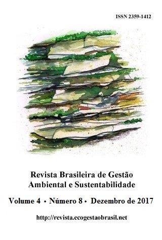 Cover, RBGAS, v. 4, n. 8