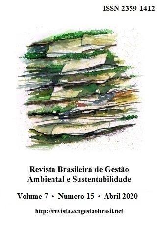 Cover, RBGAS, v. 7, n. 15