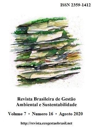 Cover, RBGAS, v. 7, n. 16