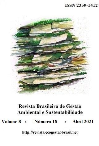 Cover, RBGAS, v. 8, n. 18